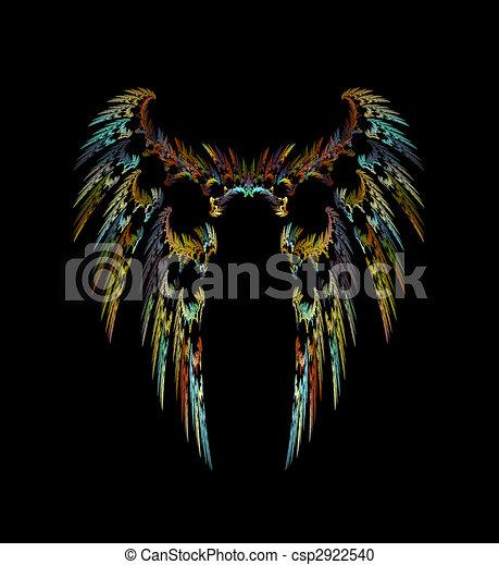 Dark Angel Wings - csp2922540