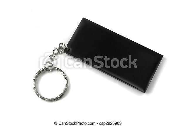 Black keychain - csp2925903