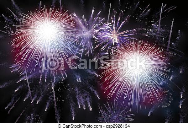 Firework - csp2928134