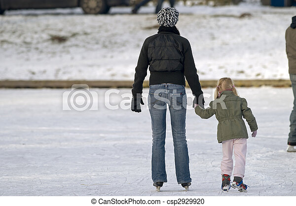 Photographies de glace patinage ext rieur patinoire for Patinage exterieur