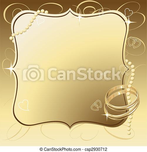 Beautiful Wedding - csp2930712