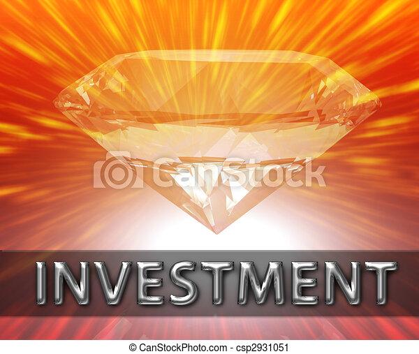 Weath savings investment concept - csp2931051