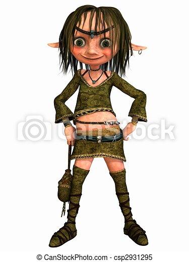 Female Fantasy Figure - csp2931295