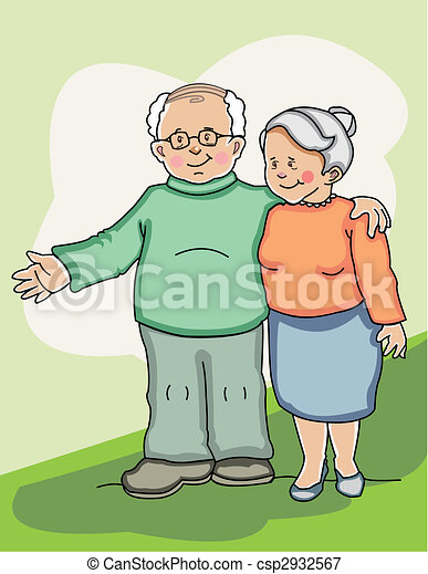 Senior couple - csp2932567
