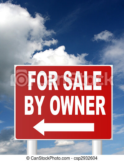 for sale by owner - csp2932604