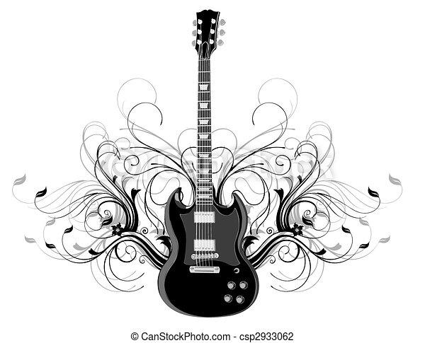 guitar - csp2933062