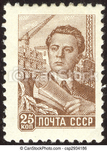 philatelic fifty three - csp2934186