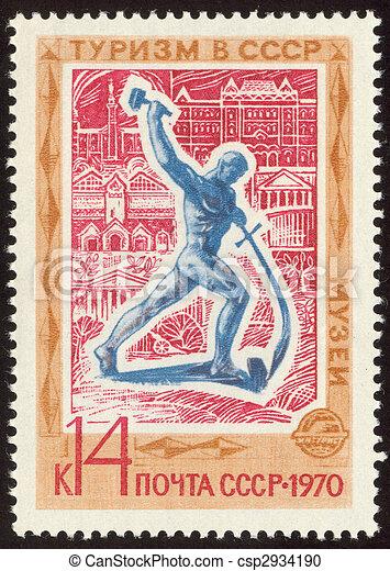 philatelic forty seven - csp2934190