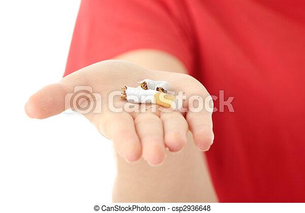 End of smoking - csp2936648
