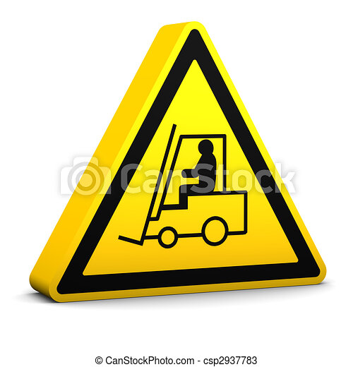 Industrial Vehicles Sign - csp2937783