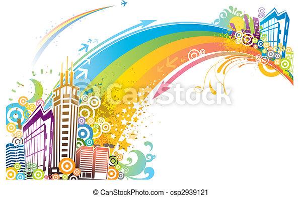 city background - csp2939121