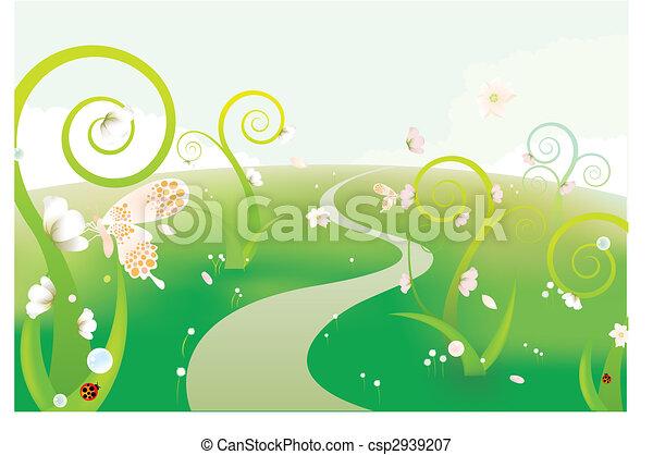 Vector   Dream Garden