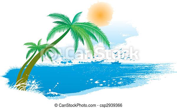 seaside scenery - csp2939366