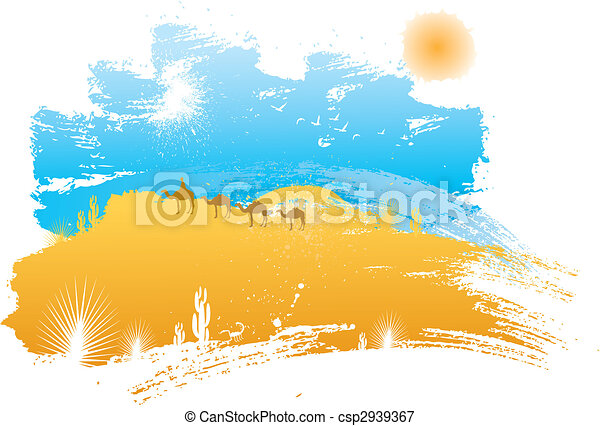 desert scenery - csp2939367