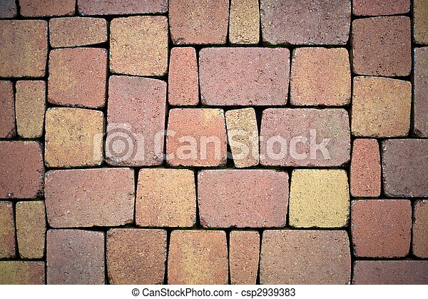 Paving stones for terrace construction - csp2939383