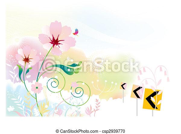flower scenery - csp2939770