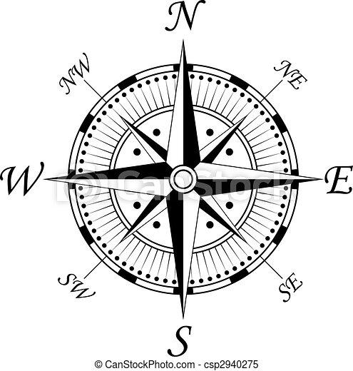 Compass symbol - csp2940275
