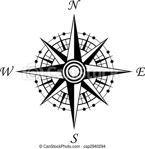 Compass symbol - csp2940294