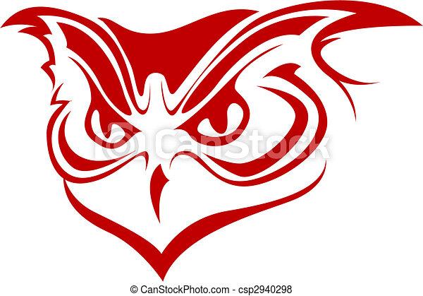 Owl symbol - csp2940298