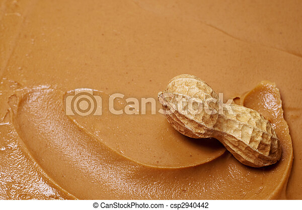 Raw Peanut in Peanut Butter - csp2940442