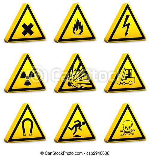 Safety Signs - Set01 - csp2940606