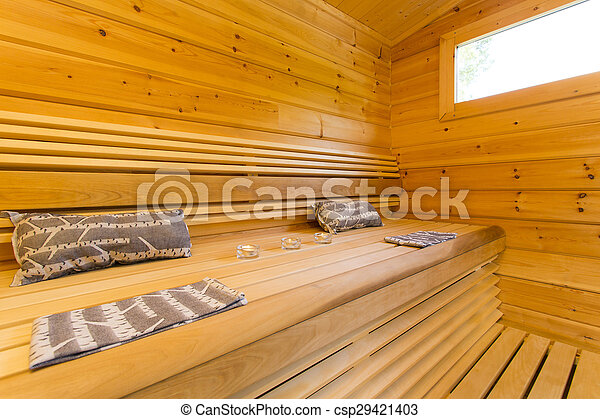 photographies de sauna int rieur csp29421403 recherchez des photos des images et des clipart. Black Bedroom Furniture Sets. Home Design Ideas