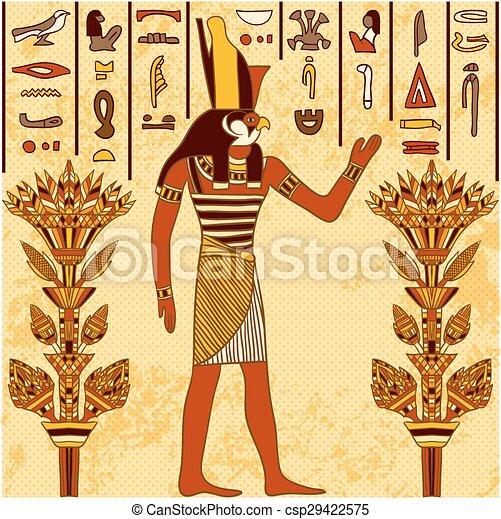 egyptian god - csp29422575