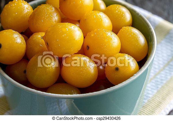 Assortment of Fresh Heirloom Tomatoes