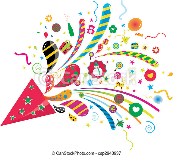 Free Party Graphics Clip Art