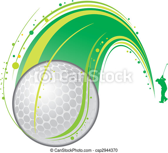 playing golf - csp2944370