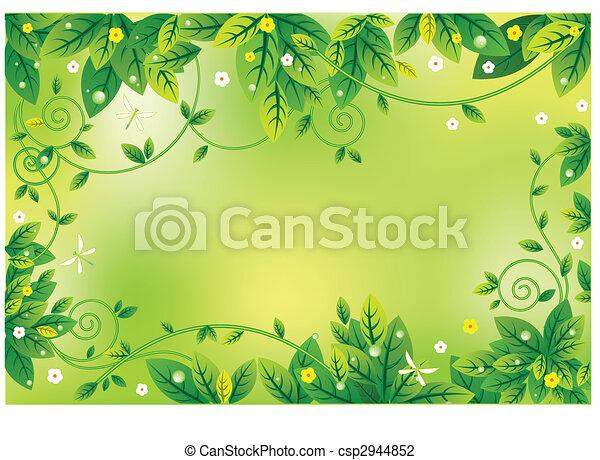 leaf noticeboard - csp2944852