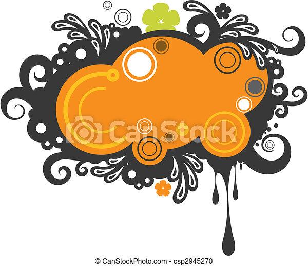 funky noticeboard - csp2945270