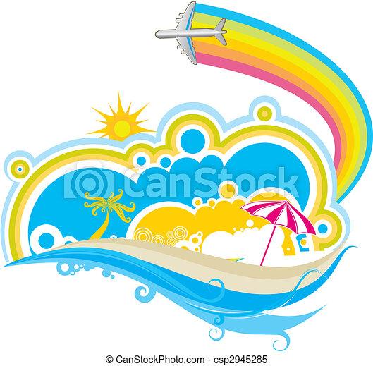 seaside scenery - csp2945285