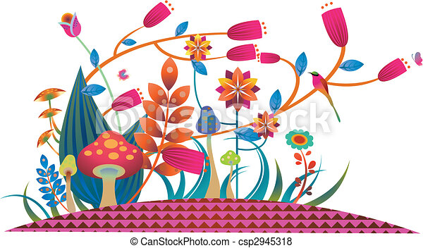 flowers and plants - csp2945318