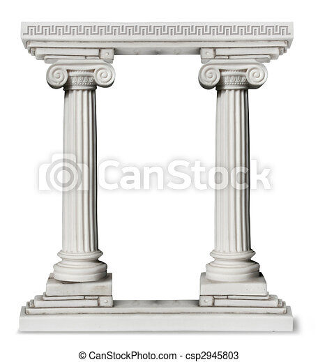 Greek_columns_border - csp2945803