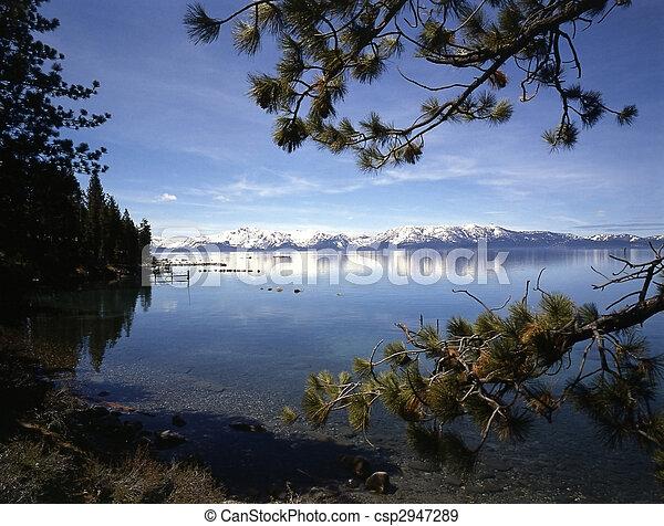 Lake Tahoe in California - csp2947289
