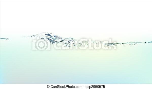 water splash and liquid - csp2950575