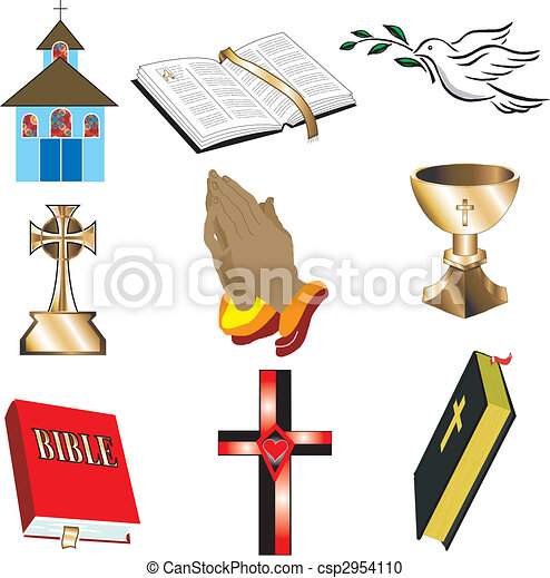 Church Icons 1 - csp2954110