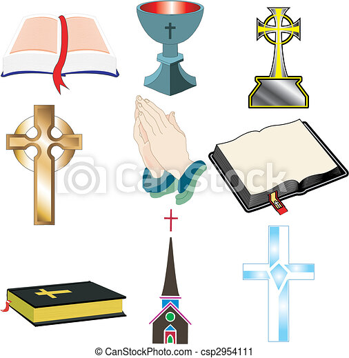 Church Icons 2 - csp2954111