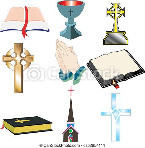 Church Icons 2 - csp2954111
