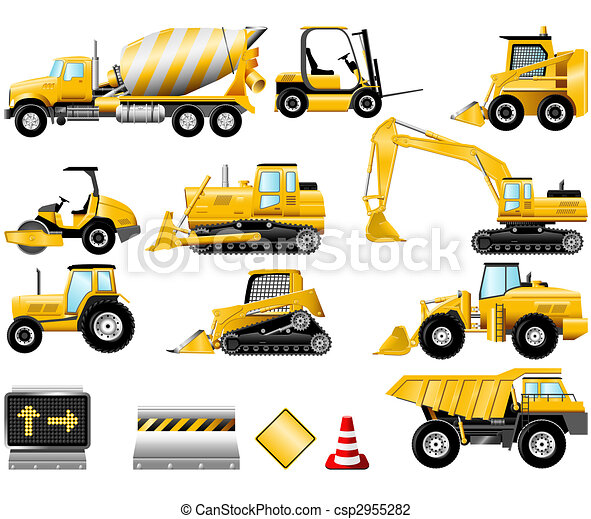 Construction icon set - csp2955282