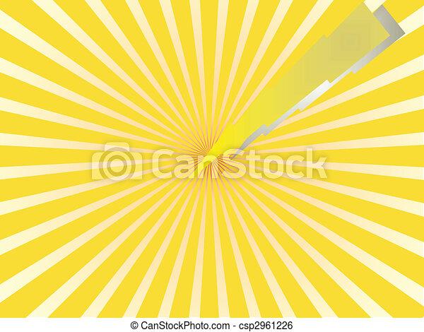 Amarillo Destello Amarillo Plano De Fondo