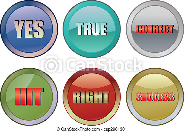 Correct buttons - csp2961301