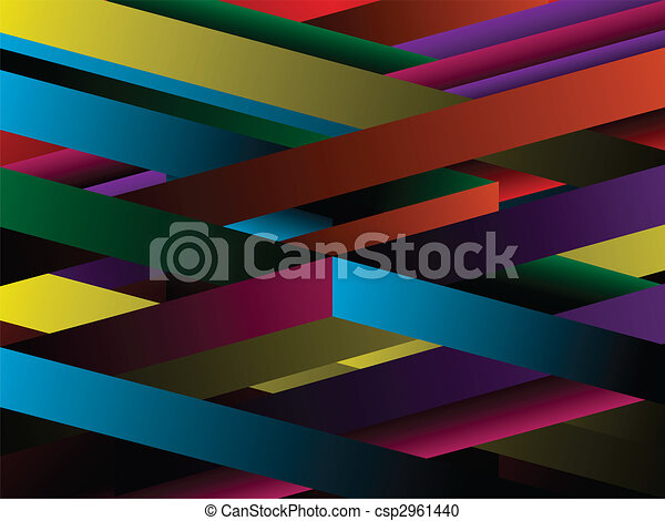 Geometric abstract background - csp2961440