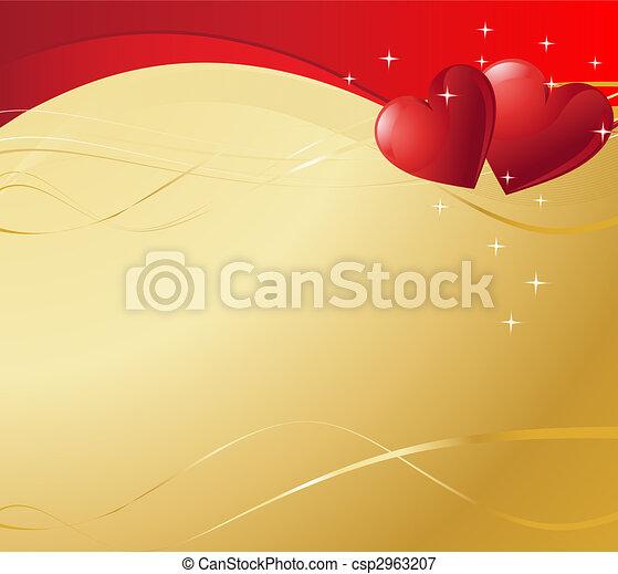 Valentine Hearts - csp2963207