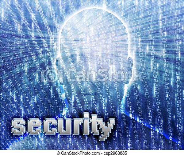 Online crime - csp2963885
