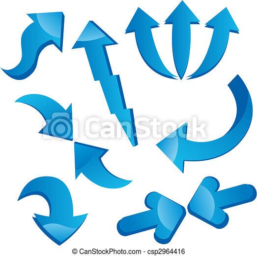 Arrow icons - csp2964416