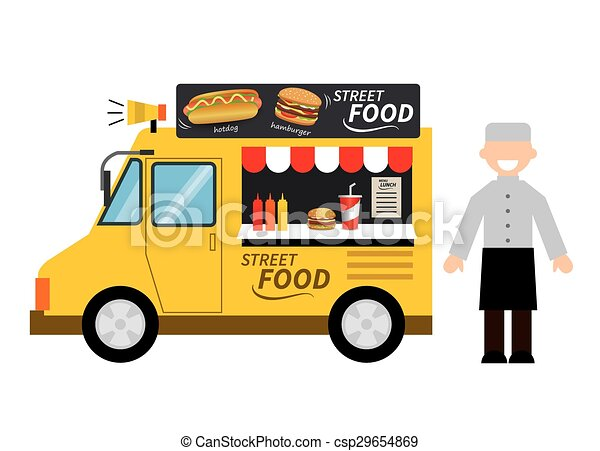 Hot Dog Food Truck Graphics