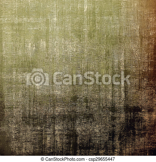 Grunge old-fashioned background with space for text or image. With different color patterns: brown; gray; green; black