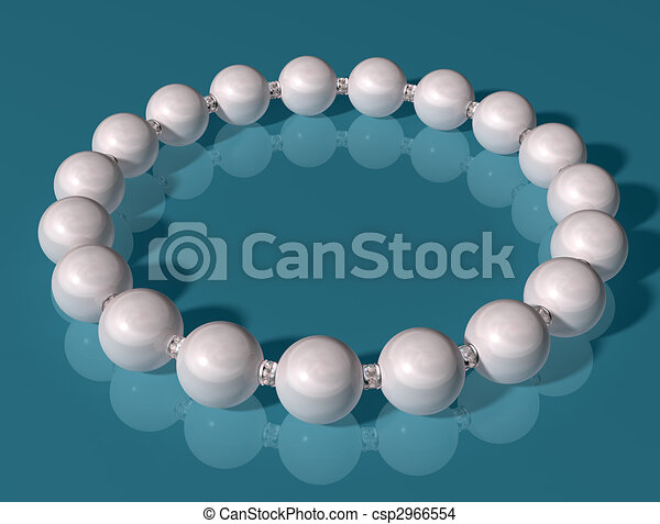 Pearl Bracelet - csp2966554